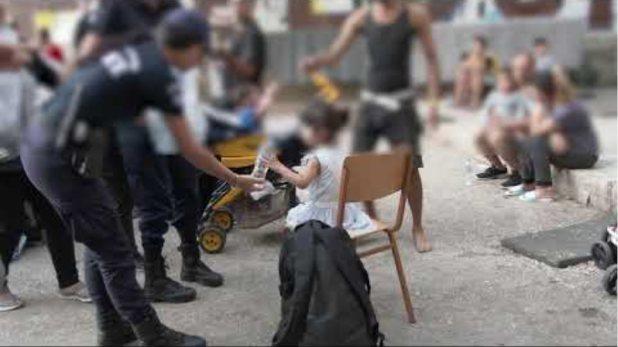 19 09 2019 Αστυνομική επιχείρηση εκκένωσης υπό κατάληψη κτιρίων