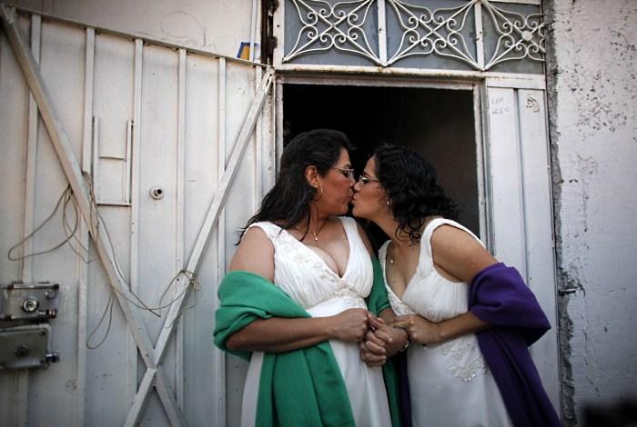 mexico casamento lesbica Lol Kin Castaneda  Judith Vazquez