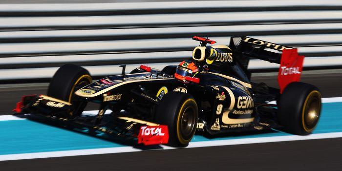 Lotus Renault em Abu Dhabi