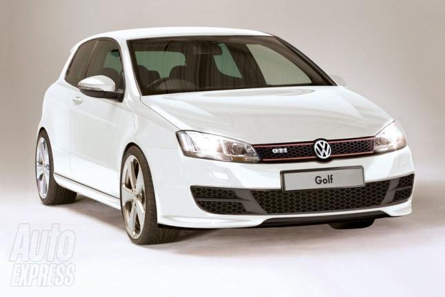 A Volkswagen prepara a apresentação oficial da sétima geração do Golf GTI para o Salão do Automóvel de Paris, em setembro. Mas a revista inglesa Auto Expre...