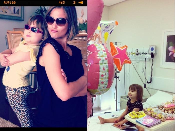 Luiza Valdetaro corta cabelo em solidariedade à filha, que tem câncer