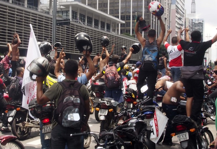 Protesto Motoboy