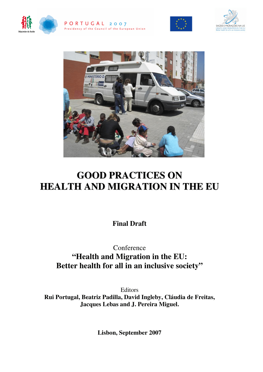 Pdf Good Practices On Health And Migration In The Eu