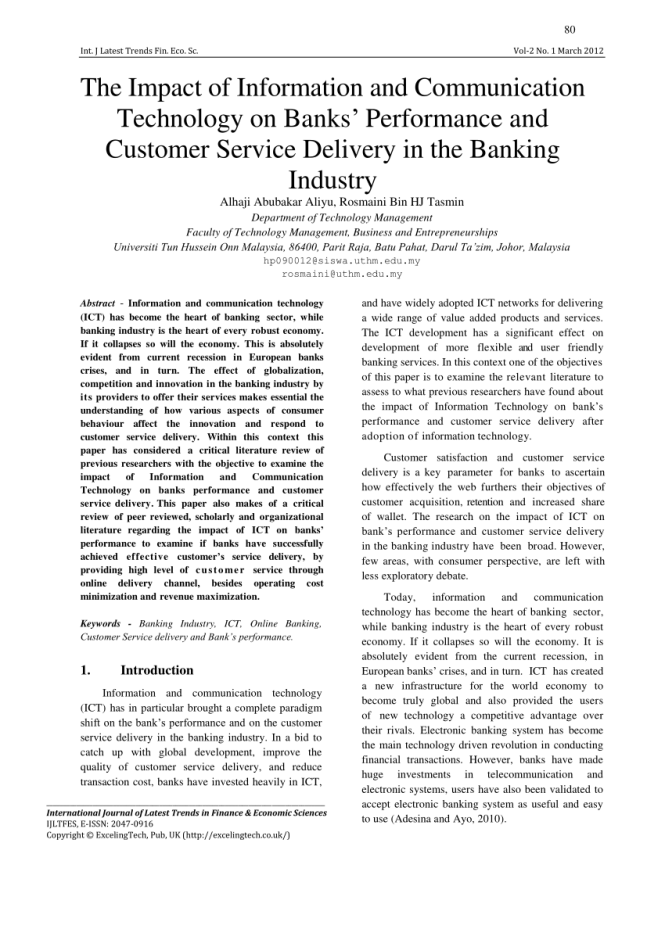 Improving Customer Service In The Banking Industry - Best Industry 2017