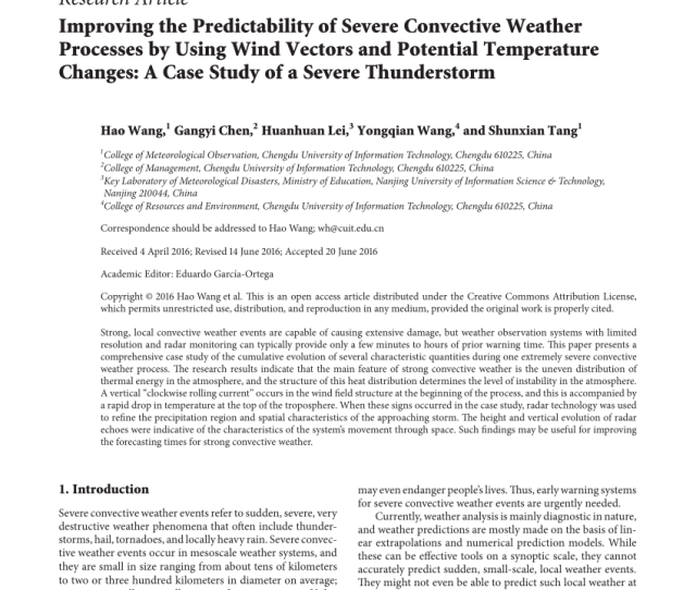 Pdf Evaluation Of Atmospheric Instability Indices In Greece