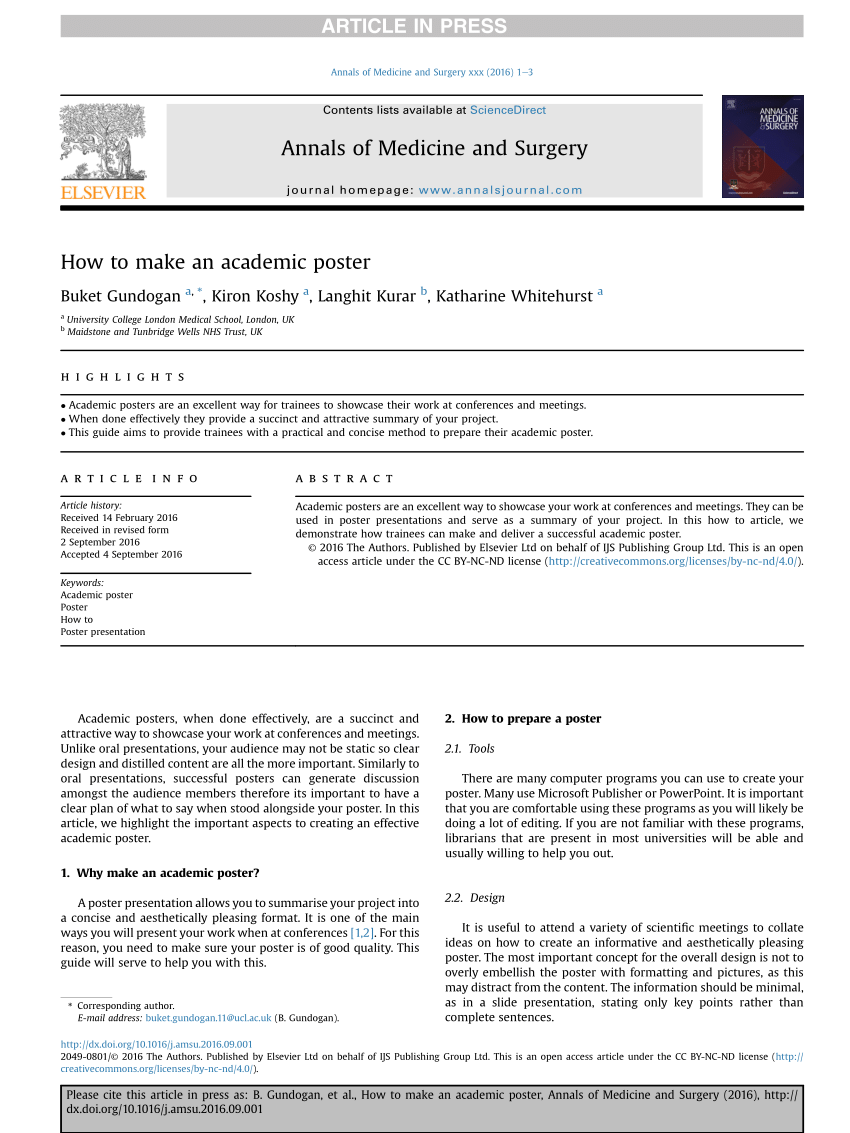 pdf how to make an academic poster