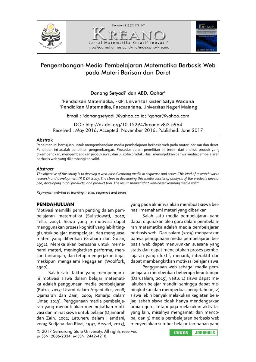 19 Jurnal Skripsi Pendidikan Matematika