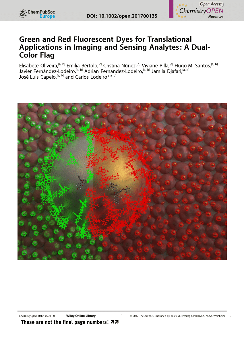 pdf green and red fluorescent dyes for