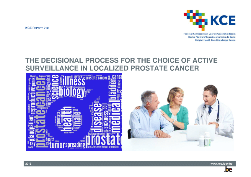 pdf the decisional process for the choice of active surveillance in localized prostate cancer