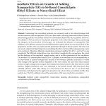Pdf Aesthetic Effects On Granite Of Adding Nanoparticle Tio2 To Si Based Consolidants Ethyl Silicate Or Nano Sized Silica