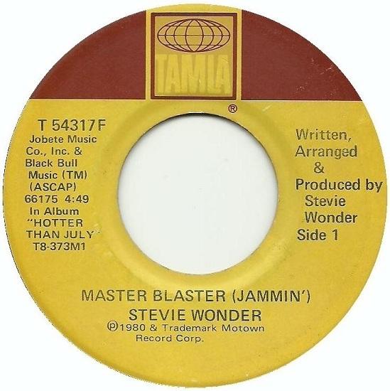 Stevie Wonder - Masterblaster