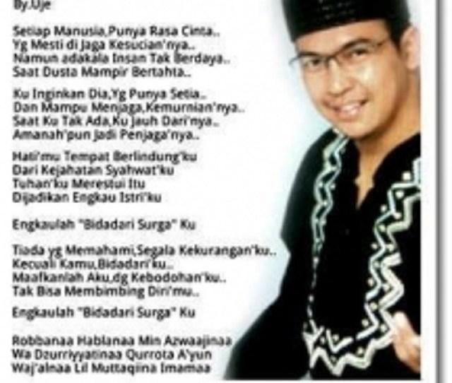 Download Lagu Mp Terbaru Bidadari Surga Cover Ust Jefri Al Buchori Lagu Lagu Terbaru Full Al Single Religi Terbaru Dan Lagu