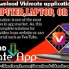 How to download Vidmate application on your computer, laptop, or PC? mp3