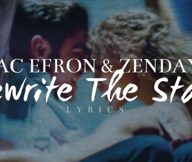 Zac Efron Zendaya Rewrite The Stars Dj Rockwidit Remix By
