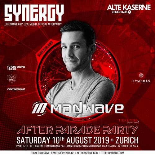 Madwave Live @ SYNERGY After Parade Party – Alte Kaserne Zurich (10.08.2019)