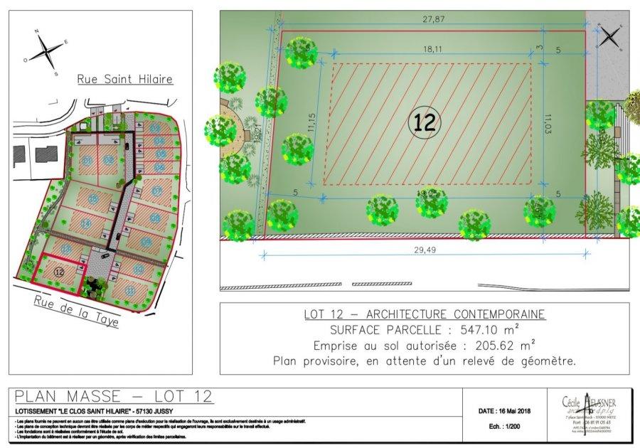 Terrain Constructible En Vente Jussy 5 M 185 000