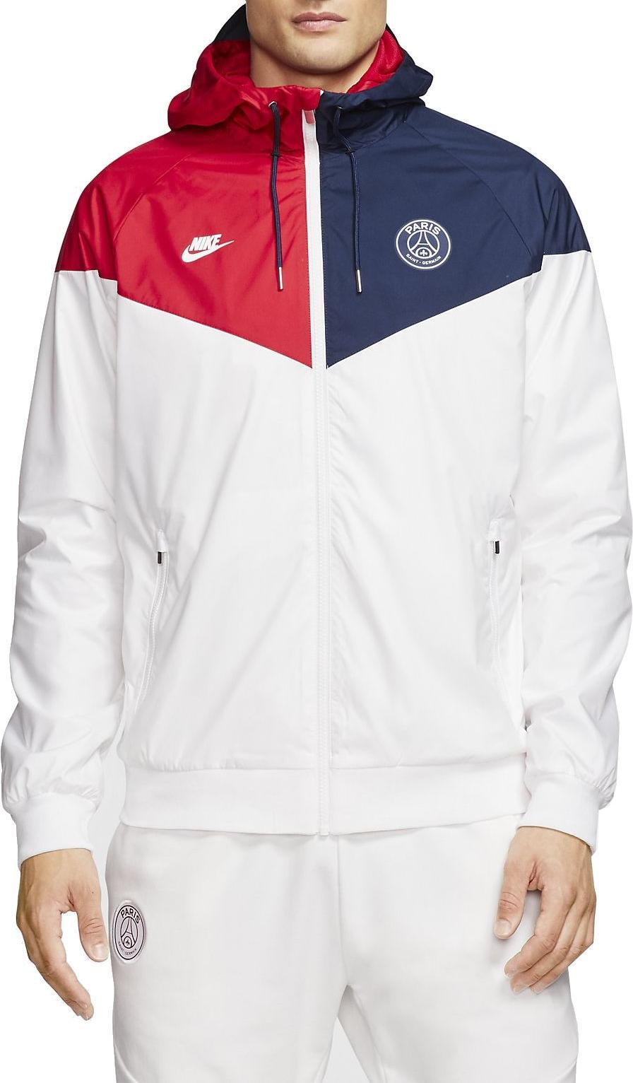 hooded jacket nike psg m nsw wr wvn aut cl