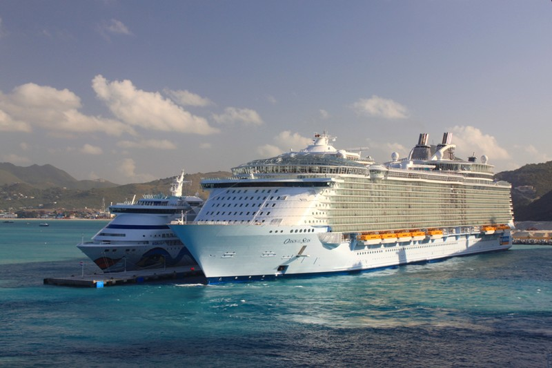 Oasis Of The Seas A Photo From Netherlands Antilles