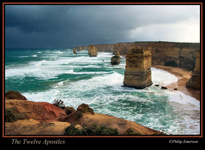 The Twelve Apostles A Photo From Victoria East Trekearth