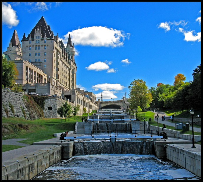 Image result for rideau canal lock station