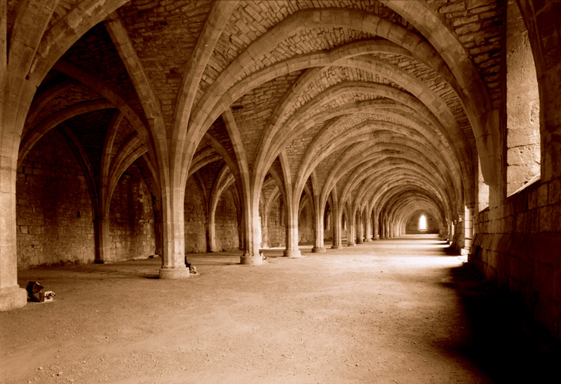 Solarium Fountains Abbey A Photo From North Yorkshire