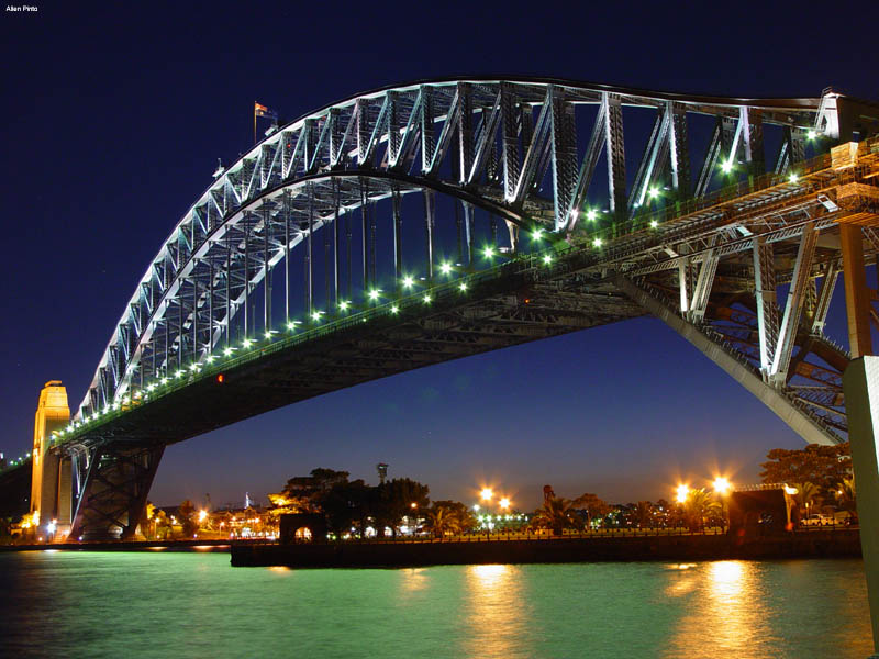 Sydney Harbour Bridge A Photo From New South Wales East