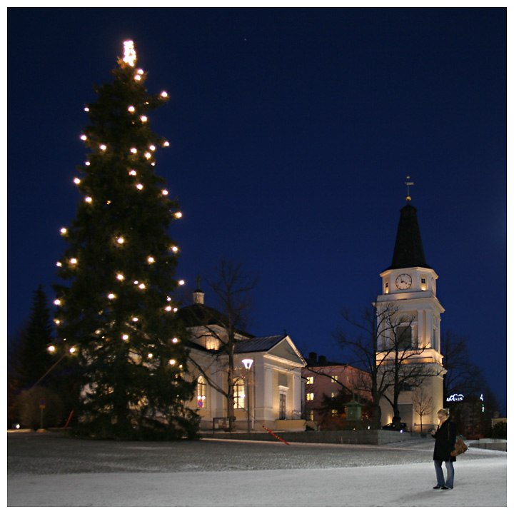 Christmas Tree A Photo From Western Finland South