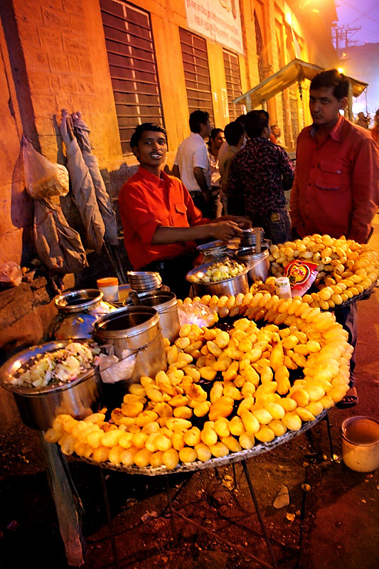 Gol Gape Pani Puri A Photo From Rajasthan West TrekEarth