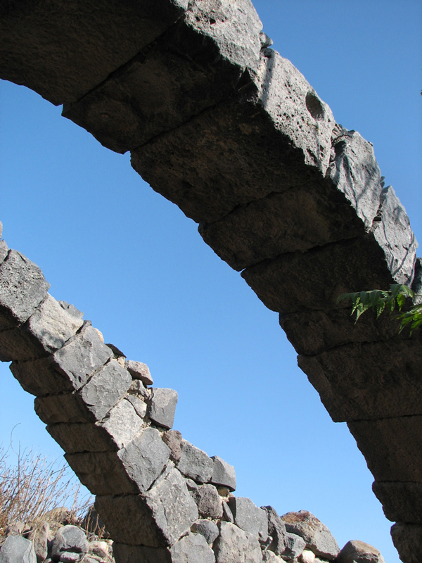 Ancient Arches - Golan heights, Kinneret