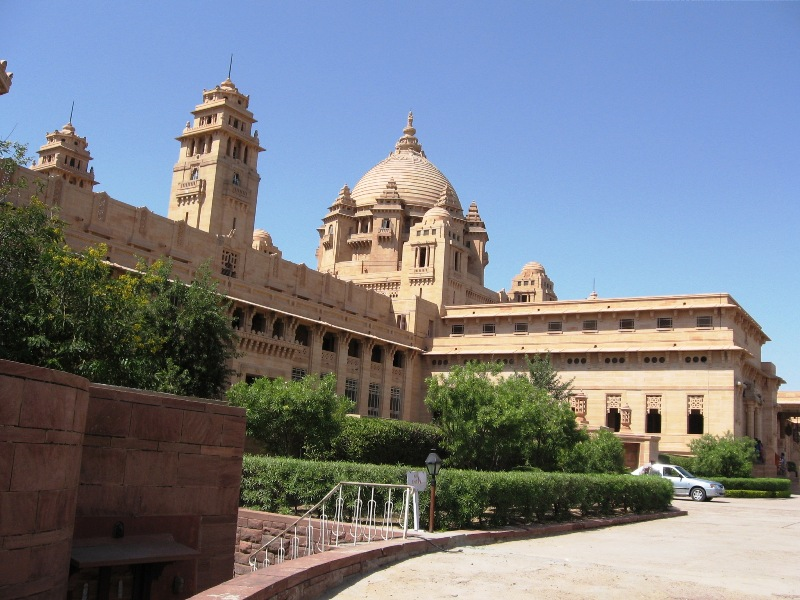 Umaid Bhawan Palace - Jodhpur, a photo from Rajasthan, West ...