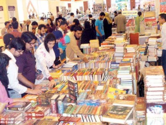 NBF said hundreds of thousands of book were sold during first two days of the festival. PHOTO: WASEEM NAZIR/EXPRESS