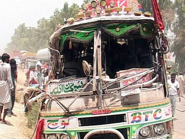 A file photo of a bus accident. PHOTO: PPI