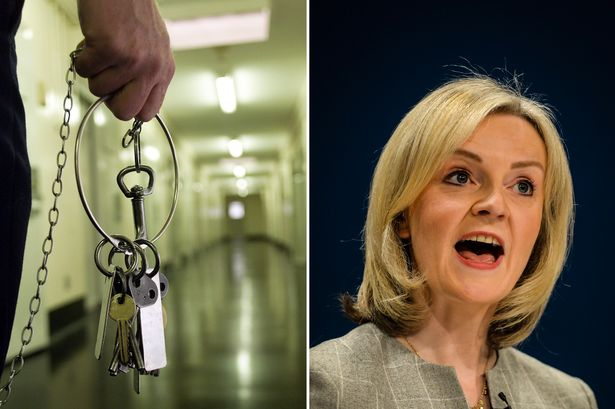 Justice Secretary Liz Truss will announce plans for four new prisons, including one in Port Talbot