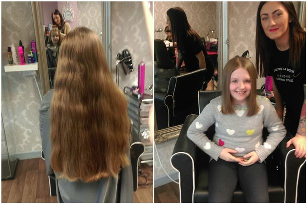 Schoolgirl Sophie Hull Cut 10 Inches Off Her Hair To Make