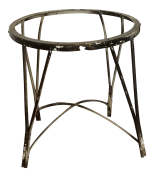 Vintage Mid Century Modern Wrought Iron Plant Stand With Tapered Hairpin Legs Chairish
