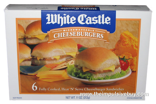 review white castle microwaveable