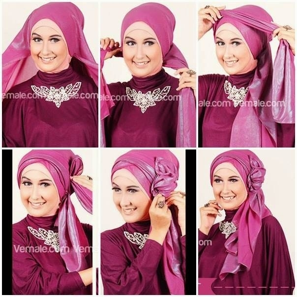 Model Hijab Pashmina Pesta