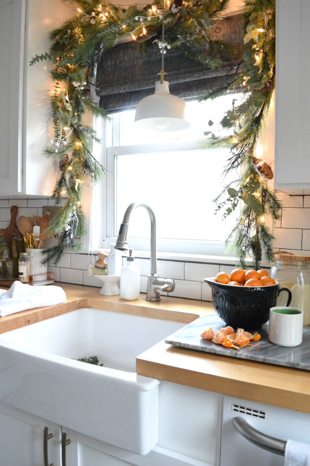 christmas in our small kitchen started
