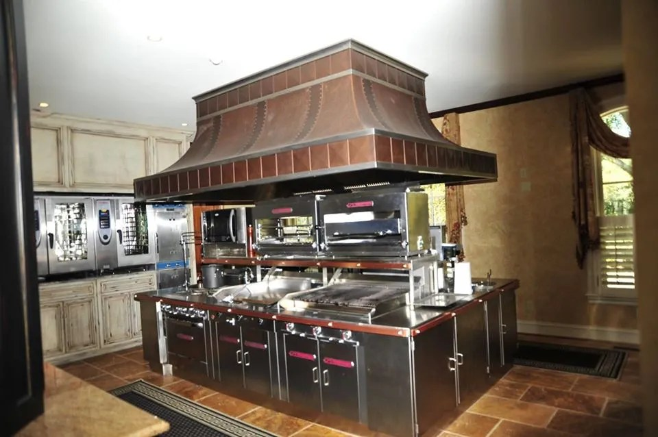 what is a commercial range hood and how