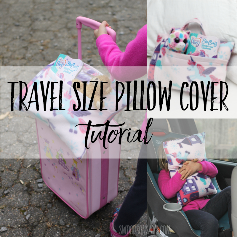 kid s travel pillow sewing tutorial