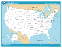 File Us Map States And Capitals Png Wikimedia Commons