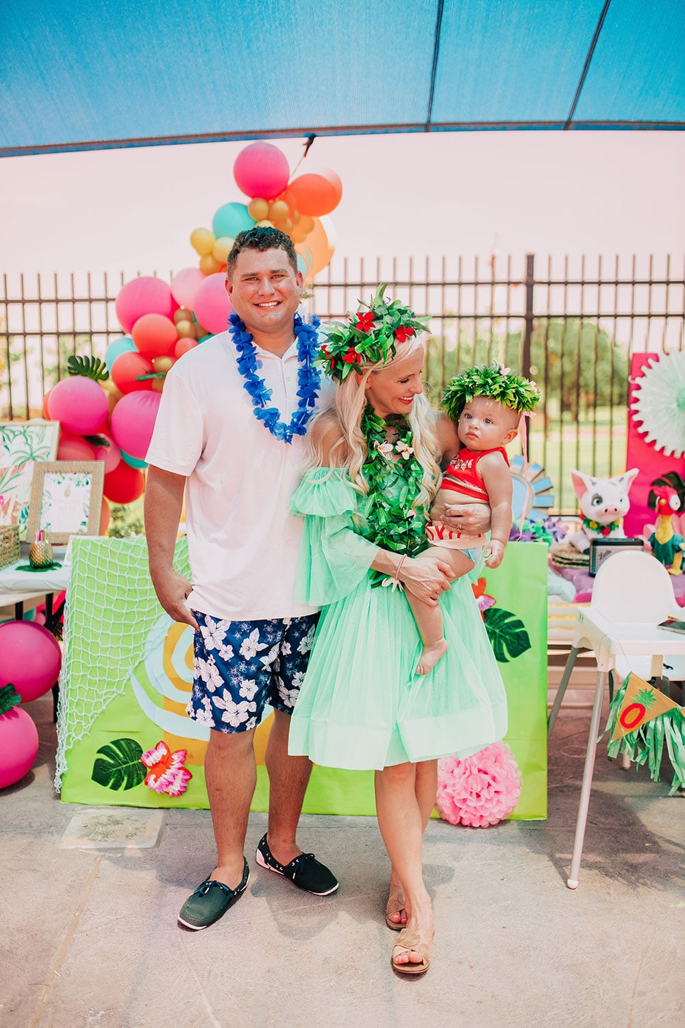 moana inspired first birthday party