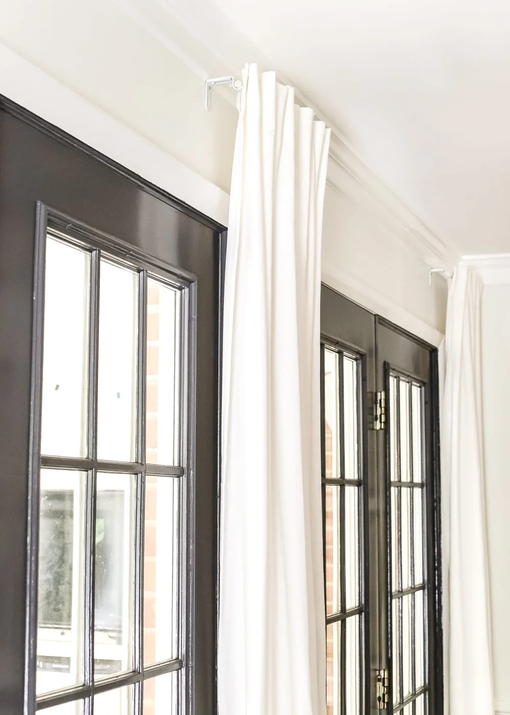 how to fake a long curtain rod bless