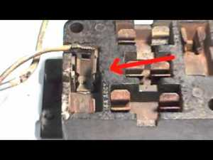How to Repair a Ford Falcon  Mustang Fuse Box  YouTube