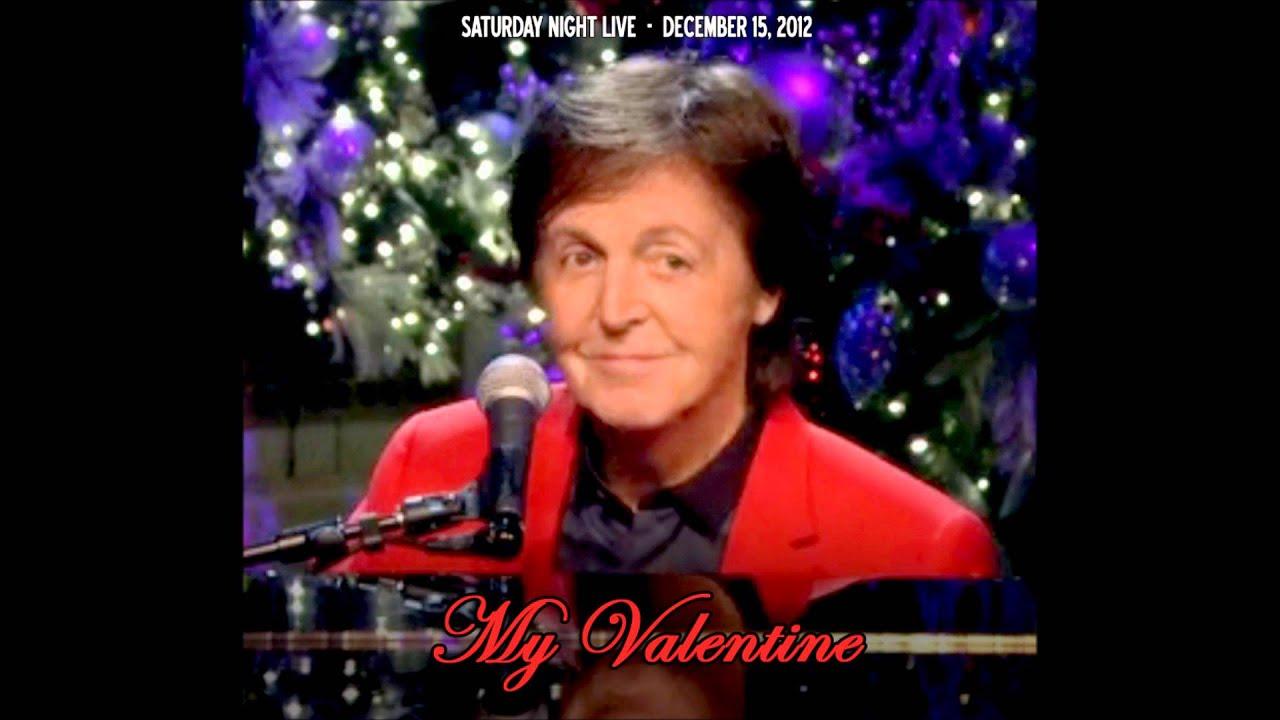 Paul McCartney My Valentine Live From SNL 12152012