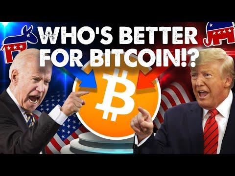 Donald Trump vs Joe Biden: Who's Better for BITCOIN!?