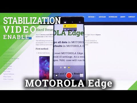 How to Activate Image Stabilization in Motorola Edge