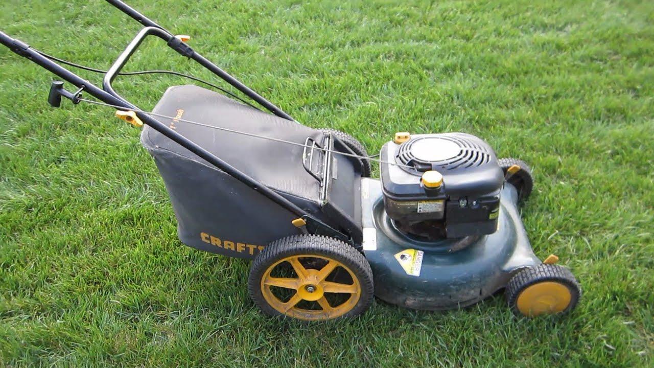 Sears Craftsman 21 High Wheel Lawn Mower Craigslist Find