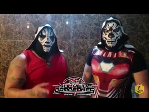 L.A. Park y L.A. Park Jr. presentes en la Noche de Campeones de Kaoz Lucha Libre