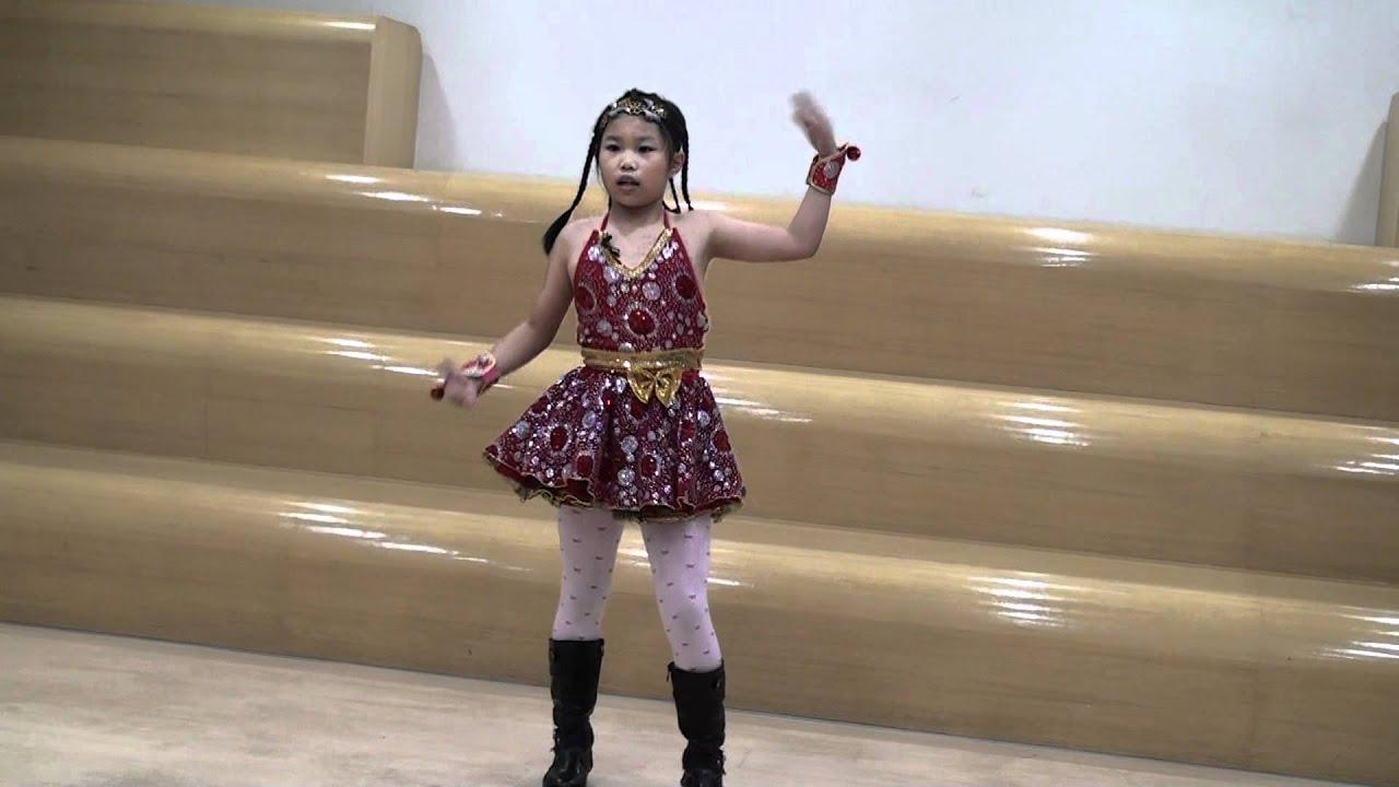 星光少女主題曲You May Dream( 中文版)-跆拳道小歌星張佳筠試鏡影片 - YouTube